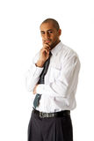 Handsome business man standing Royalty Free Stock Image