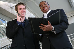 Handsome Business Men Royalty Free Stock Image
