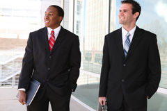 Handsome Business Men Team Stock Photos