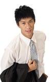 Handsome businessman Royalty Free Stock Photos