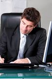 Handsome businessman Stock Photos