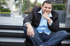 Handsome businessman Stock Images