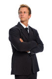 Handsome businessman in formal suit Royalty Free Stock Photography