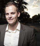 Handsome businessman headshot Royalty Free Stock Images
