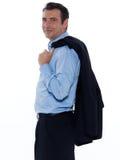 Handsome businessman man portrait Stock Image