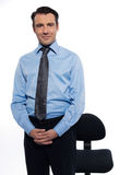 Handsome businessman man portrait Stock Image