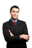 Handsome businessman portrait Royalty Free Stock Images
