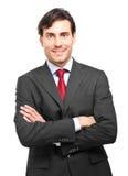 Handsome businessman portrait Stock Photography