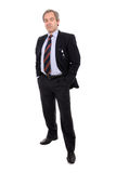 Handsome businessman portrait royalty free stock photography