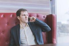 Handsome businessman portrait. Royalty Free Stock Images