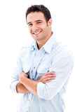 Handsome casual man Royalty Free Stock Photos