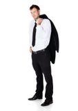 Handsome caucasian businessman Stock Photos