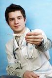 Handsome caucasian doctor Stock Image