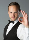 Handsome caucasian man Stock Images