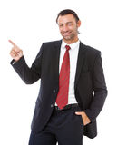 Handsome Caucasian young businessman. Stock Photography