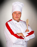 Handsome chef Stock Photo