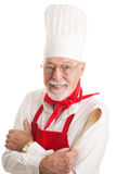Handsome Chef - White Background Royalty Free Stock Photos