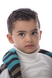 Handsome Child Looking Away Royalty Free Stock Photography