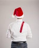 Handsome christmas man Stock Photo