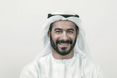 Handsome Confident Arab businessman smiling, Arabian Businessman Royalty Free Stock Photography
