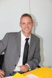 Handsome confident businessman Stock Photo