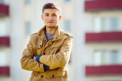 Handsome confident man with a friendly smile Royalty Free Stock Image