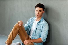 Handsome and confident. Stock Photography