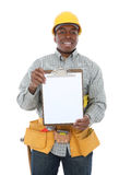 Handsome Construction Man Stock Photography