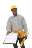 Handsome Construction Man Royalty Free Stock Photography