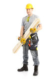 Handsome contractor Stock Image