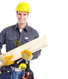 Handsome contractor Stock Photography