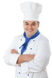 Handsome cook Stock Image