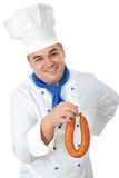 Handsome cook Royalty Free Stock Photos