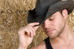 Handsome Country Man Stock Image