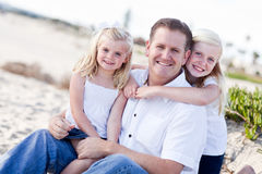 Handsome Dad  Stock Images