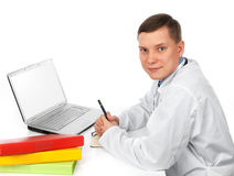Handsome doctor Royalty Free Stock Photography