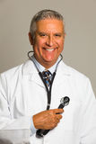 Handsome doctor Stock Photography