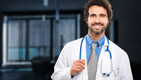 Handsome doctor portrait Royalty Free Stock Photo
