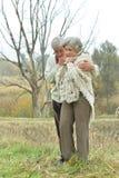 Handsome elderly couple Stock Image