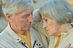 Handsome elderly couple Royalty Free Stock Photo