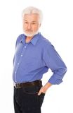 Handsome elderly man with beard Royalty Free Stock Photo