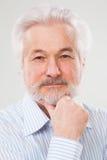 Handsome, elderly man Royalty Free Stock Images