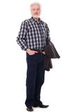 Handsome, elderly man Stock Photo
