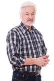 Handsome, elderly man Stock Image