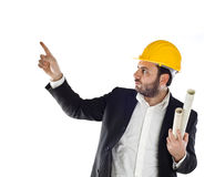 A handsome engineer Stock Photography