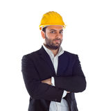 A handsome engineer Royalty Free Stock Photos