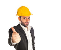 A handsome engineer Royalty Free Stock Images