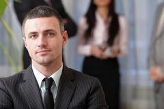 Handsome executive businessman Royalty Free Stock Images