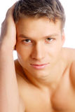 Handsome face Royalty Free Stock Photography