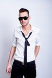 Handsome Fashion Model Man Stock Photos